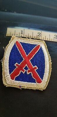 """10th """"MOUNTAIN"""" Division patch 5 PATCHES $9.99 YES 5 PATCHES ONLY $9.99  SALE !!"""