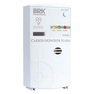 BRK Co850mbxi Carbon Monoxide Detector, Mains Powered With 9 V Battery Backup
