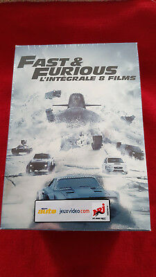 FAST AND FURIOUS l'intégrale 8 films VF neuf sous blister