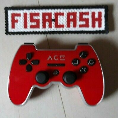 Manette PS3 ACE Rouge
