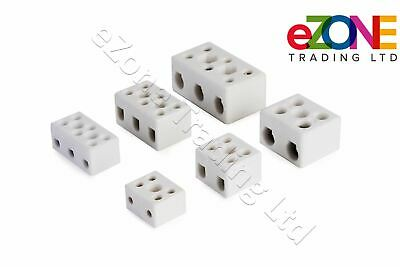 High Temperature Ceramic Electric Terminal Blocks Wire Porcelain Connectors