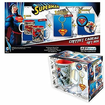 Pack Mug Keyring Chaps Superman - Mug Set - Official Product