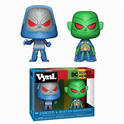 Funko Vynl ! Darkseid + Martian Manhunter - Dc Comics Official Product