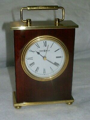 Vintage Howard Miller  model 613528 Rosewood Bracket Mantel/Shelf Clock
