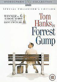 Forrest Gump (2 Disc Special Collector's Edition) [1994] [DVD] DVD, Very Good, R
