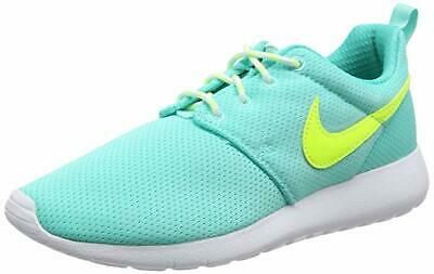 san francisco f997c da89b Nike Roshe One GS Running Shoes Youth Size 6.5Y Green Jade Volt White 599729  302