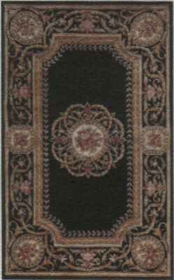 """1:48 Scale Dollhouse Area Rug 0000734 - approximately 1-7/8"""" x 3-1/16"""""""