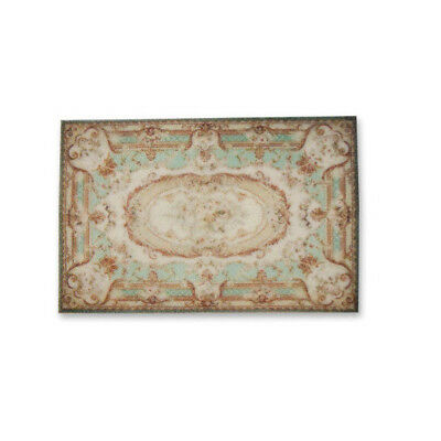 """1:48 Scale Dollhouse Area Rug 0000537 - approximately 2"""" x 3-1/8"""""""