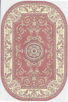 """1:12 Scale Dollhouse Area Rug Oblong - 0001683 - approximately  7"""" x 10-1/2"""""""