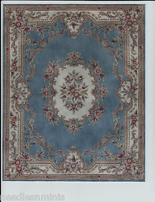 """1:12 Scale Dollhouse Area Rug 0000724 - approximately 7 7/8"""" x 9 5/8"""""""