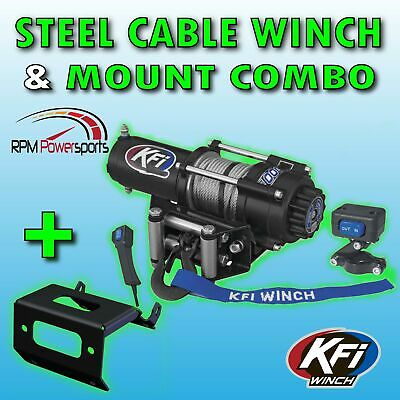 KFI Products 100870 Winch Mount for Honda Big Red MUV 700
