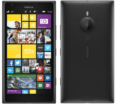 LOT OF 5 AS IS Nokia Lumia 1520 - Black 16GB - AT&T Windows Phone