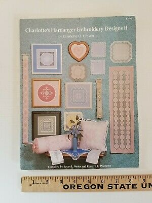 OOP MEIER WATNEMO Charlotte's Hardanger Embroidery Designs II SEVERAL PATTERNS