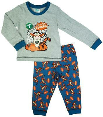 Boys Baby Toddler Disney T is For Tigger Bounce Cotton Pyjamas 6 to 24 Months