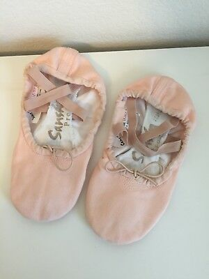 NIB Sansha Pro 1 Pink Leather or Canvas Ballet Shoes