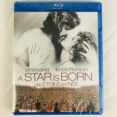A STAR IS BORN on Blu-ray - Barbra Streisand and Kris Kristofferson 1976