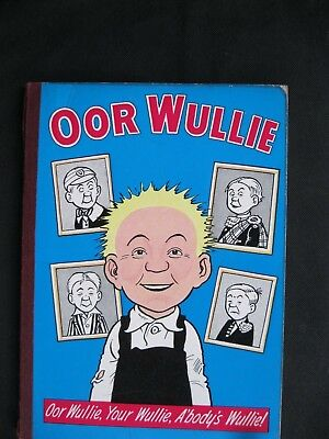 OOR WULLIE 1967 Book, Comic, Annual (Published 1966) good condition