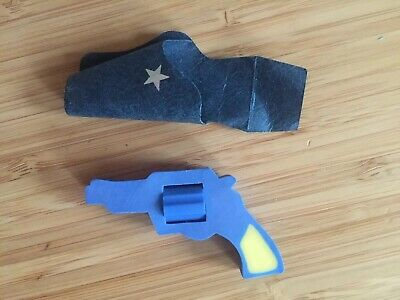 JAPAN Japanese SEED Vintage Retro Gun Rubber Eraser Novelty 80s 1980s