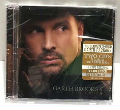 The Ultimate Hits by Garth Brooks (CD, 2 Discs) Brand New Sealed!