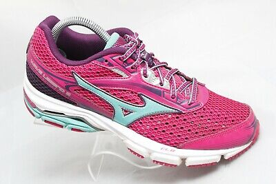 low priced 9352c 1d74a MIZUNO Wave Legend 3 Womens Sz 8.5 Pink Running Training Athletic Shoes  Sneakers