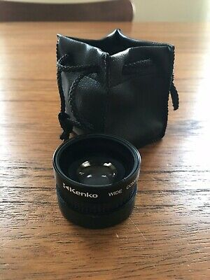 Kenko KGW 0.5X Wide Angle Conversion Lens with case