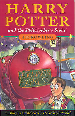 Harry Potter and the Philosopher's Stone Book by J K Rowling Paperback -Fast Del
