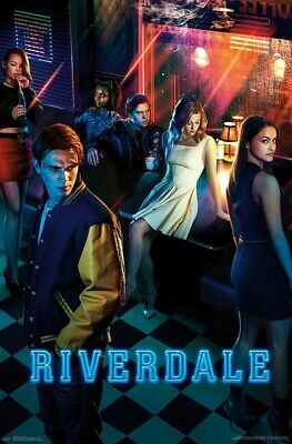 Close Up Riverdale Poster Key Art (55,5cm x 86,5cm). Delivery is Free