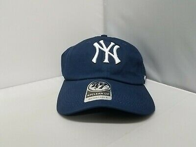f0f5f0c4555ac New York Yankees Navy Blue 47 Brand Cap Hat Adjustable Strap Curved Brim NWT