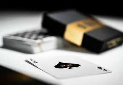 1st Playing Cards by Chris Ramsay V2 Deck Black Gold Foil (PRE-ORDER)