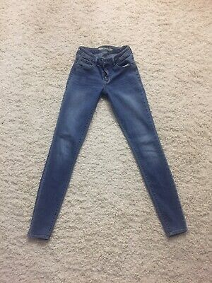 48d25db09cc OLD NAVY MID Rise Rockstar Pull On Jegging Jeans White NWT 4 ...