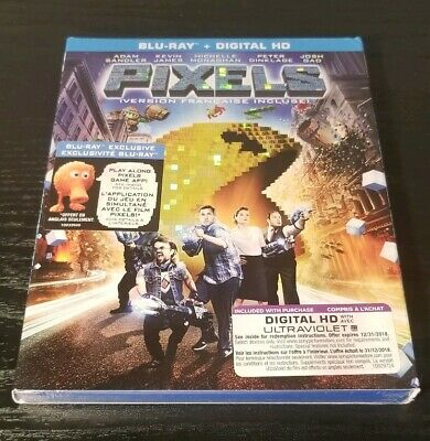 Pixels - Blu-ray Disc, 2015 - Brand New!!!