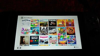 Nintendo Switch With 60 games installed