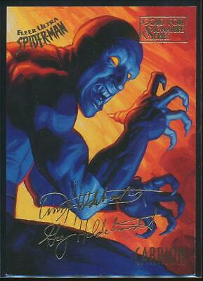 1995 Spider-Man Premiere Gold Signature Trading Card #13 Carrion