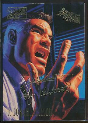 1995 Spider-Man Premiere Gold Signature Trading Card #29 J. Jonah Jameson