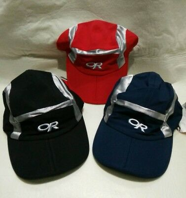 The Outdoor Research Throttle Cap Alloy One Size Red   Black   Blue 3  COLOURS a63365a5007