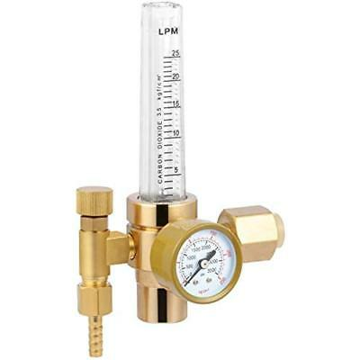 CO2 Full Copper Flowmeter Welding Regulator Gas Valves Reliable Accurate Safe