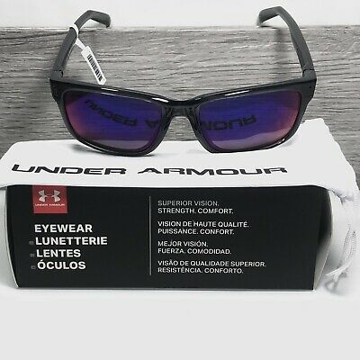 79697c78525 Under Armour 8600101-179051 assist shiny crystal smoke gray frame infrared  lens