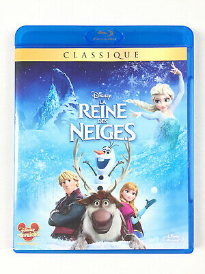 La Reine Des Neiges Blu ray Walt Disney