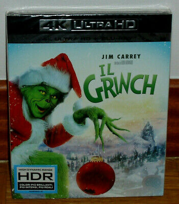The Grinch 4K Ultra Hd+Blu-Ray New Sealed Comedy Spanish (Unopened) R2