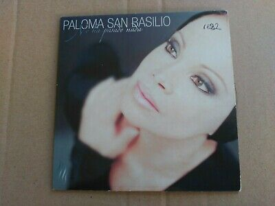 Promo Cd Single Paloma San Basilio - No Ha Pasado Nada - Spain 2001 Vg+
