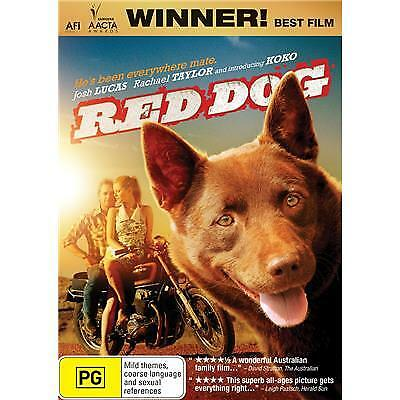 Red Dog Dvd, New & Sealed, Region 4, Free Post