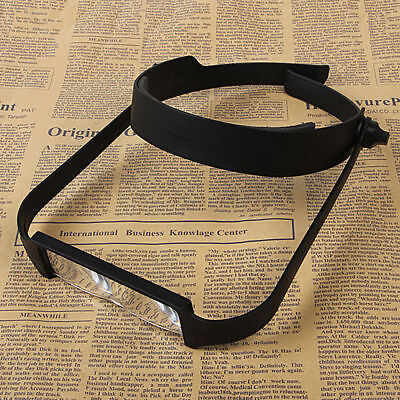 Head Headband Replaceable Lens Loupe Magnifier Magnify Glass Lens Loupe S220