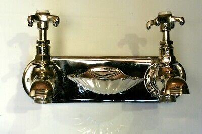 Wall Mounted Nickel Plated Taps