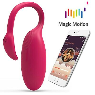 Flamingo Vibrating Bullet Magic Motion controllo APP ovulo simile a Lovense Lush
