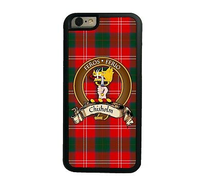 Chisholm Scottish Clan Tartan Apple iPhone 6  iPhone 6 Plus case