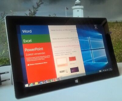 Microsoft Surface 2 Windows 10,6 Zoll Tablet inkl. MS Office-Paket OVP Magnesium