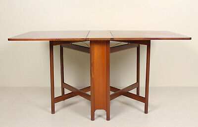 Vintage Teak Gateleg Dining Table 60s 70s