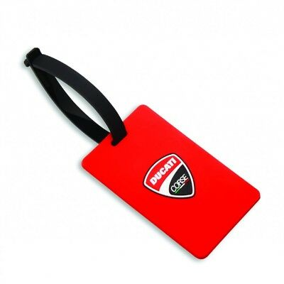 Genuine Ducati Corse Luggage Tag 987694375 NEW DUCATI ORIGINAL Genuine O.E.