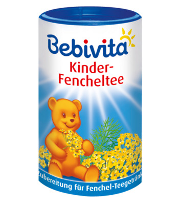 Bebivita Instant Fennel Tea for children 400g From 12 months JUST £5.19