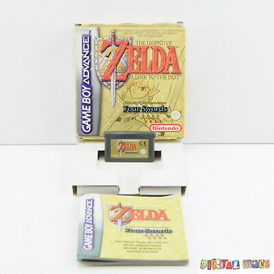 Zelda A Link to The Past Four Swords - Boxed - Gameboy Advance / DS Game GBA
